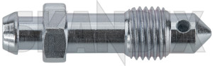 Bleeder screw, Brake 656455 (1029335) - Volvo 120 130 220, P1800 - 1800e bleeder screw brake p1800e Own-label 1000790 axle rear