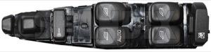 Schalter, Fensterheber 30638536 (1029530) - Volvo S40 V40 (-2004) - fensterheberschalter s40 s40i schalter fensterheber scheibenheberschalter v40 v40i Original fahrerseite fahrertuer fuer lhd linkslenker tuer tuer  vorne