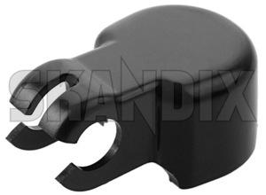 Cap, Wiper arm Headlight cleaning 9126271 (1029611) - Volvo 900, S90 V90 (-1998) - brick cap wiper arm headlight cleaning wipers Genuine cleaning for headlight headlights