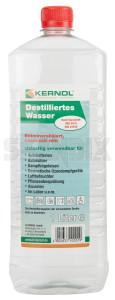 Wasser, destilliert 1 l  (1030862) - universal  - batteriewasser destiliertes wasser destilliertes wasser wasser destilliert 1l Hausmarke 1 1l l