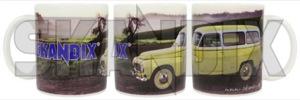 Tasse Volvo Duett  (1031063) - P210 - 210 duett kaffeebecher kaffeetasse lieferwagen p210 sammeltasse tasse volvo duett transporter trinkbecher trinktasse wagon Hausmarke duett einzelkarton mit porzellan sichtfenster volvo