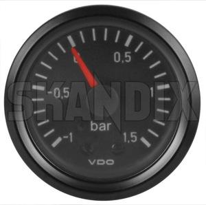 Anzeige, Ladedruck System VDO  (1032571) - universal  - anzeige ladedruck system vdo ladedruckanzeiger turboanzeiger turbometer vdo 15  1 5  1 1  1 52 52mm bar mechanisch mm system vdo