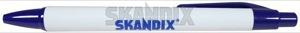 Ball pen  (1033062) - universal  - ball pen ballpoint pen biro pen Own-label black whiteblue white blue
