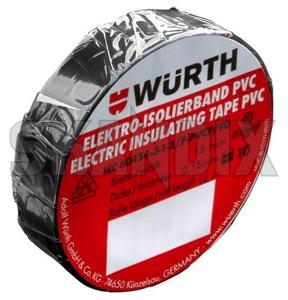 Isolierband schwarz PVC  (1033617) - universal  - isolierband schwarz pvc wuerth 0,15 015mm 0 15mm 0,15 015 0 15 10 10m 15 15mm m mm polyvinylchlorid pvc schwarz schwarzer