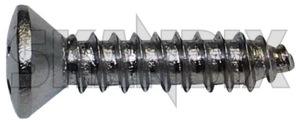 Schraube, Lampenring 191380 (1033853) - Volvo P1800, P1800ES - 1800 1800es 1800s coupe es jensen lampenrahmen lampenringschraube lampenschraube p1800s saint scheinwerferrahmen schneewittchensarg schraube lampenring schrauben sportcoupe sportkombi Hausmarke 1007349