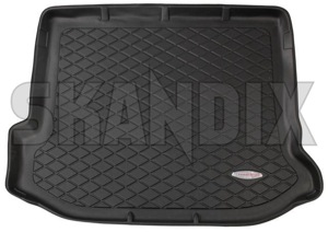 Trunk mat Synthetic material black-grey  (1037753) - Volvo V60 (2011-2018), V60 XC (-18) - trunk mat synthetic material black grey trunk mat synthetic material blackgrey Own-label blackgrey black grey bowl mat material plastic synthetic