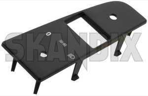 Panel, Switch 3540794 (1037969) - Volvo 200 - brick panel switch switchpanel Genuine black light switch text with