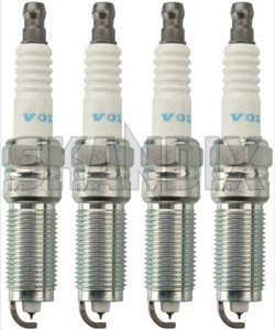 Spark plug Kit 31330450 (1038175) - Volvo S60 (2011-2018), S80 (2007-), V40 (2013-), V40 XC, V60 (2011-2018), V70 (2008-) - spark plug kit Genuine kit petrol