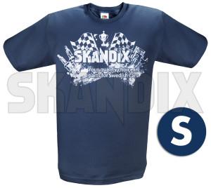 T-Shirt SKANDIX Logo Racing S  (1039658) - universal  - hemden shirts t shirt skandix logo racing s tshirt skandix logo racing s Hausmarke 1/2 12 1 2 aermellaenge bedruckt blau blauer logo racing rundhals s skandix
