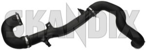Charger intake pipe 12822777 (1039941) - Saab 9-3 (2003-) - charger intake pipe Genuine      flap intercooler pipe pressure throttle