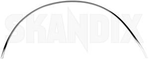 Zierleiste, Radlauf hinten links 1201841 (1041014) - Volvo 200 - 200er 240er 242 244 245 260er 262 262er 264 265 2er chromleisten leisten p240 p242 p244 p245 p260 p262 p264 p265 radkasten zierleisten radlaufchromleisten radlaufkanten radlaufleisten radleisten radzierleisten zierleiste kotfluegel zierleiste radlauf hinten links zierleisten Original chrome hinten hinterer krom linker links verchromt verchromter