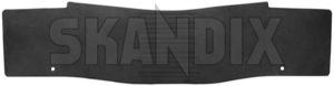 Tunnel mat black (offblack) 39822885 (1044545) - Volvo XC60 (-2017) - cardan tunnel mats driveshaft tunnel mats floor mats middle tunnel mats protective mats tunnel mat black offblack tunnel mat black offblack  Genuine offblack  offblack  black rubber