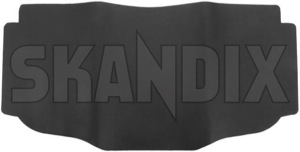 Tunnel mat grey 39885109 (1044547) - Volvo S60 (-2009), S80 (-2006), V70 P26, XC70 (2001-2007), XC90 (-2014) - cardan tunnel mats driveshaft tunnel mats floor mats middle tunnel mats protective mats tunnel mat grey Genuine grey rubber