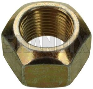 Nut, Wheel bearing Front axle 3292532 (1046899) - Volvo 300, 66 - nut wheel bearing front axle Own-label axle front