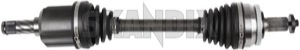 Drive shaft left 8252035 (1048057) - Volvo S60 (-2009), V70 P26 - drive shaft left Own-label awd left without