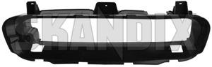 Air guide Nosepanel upper 30657151 (1049655) - Volvo C30, C70 (2006-), S40 V50 (2004-) - aerofoils air baffle plates air guide nosepanel upper airfoils deflectors vanes ventilation plates Genuine nosepanel upper