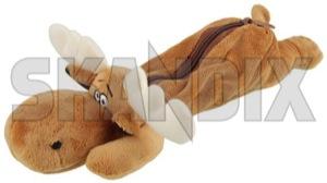 Etui Elch  (1050381) - universal  - etui elch faulenzer federetui federmaeppchen federmappe federtasche maeppchen mappe schlamperrolle schueleretui stifteetui stiftemappe stiftrolle stifttasche tasche skandix 170 170mm 330 330mm 50 50mm elch elche mm rentier
