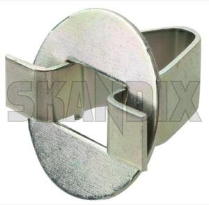 Clip, Interior panel 3519483 (1053119) - Volvo 700, 900, S90 V90 (-1998), V40 (-2004) - brick clip interior panel Genuine apillar a pillar bootlid cover cover  edge tailgate tailgate