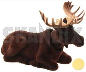 Bobblehead moose  (1054925) - universal  - bobbledoll bobbleelk bobblehead moose bobblemoose doll elk mascot Own-label 100 100mm 160 160mm 70 70mm brown mm