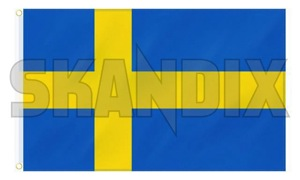 Banner Swedish flag  (1055205) - universal  - banner swedish flag flag Own-label 150 150cm 90 90cm banner blueyellow blue yellow cm flag sverige sweden swedish