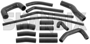 Radiator hose Silicone Kit  (1055990) - Saab 95, 96 - radiator hose silicone kit skandix kit silicone