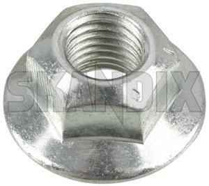 Nut, Wheel bearing Rear axle 9191936 (1058661) - Saab 9-3 (2003-) - nut wheel bearing rear axle Genuine axle rear