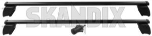 Lastenträger Satz 31435482 (1059177) - Volvo XC60 (-2017) - dachgepaecktraeger dachreeling dachreling dachtraeger gelaendewagen gepaecktraeger lastentraeger satz rails reeling reling suv traeger xc xc60 Original 100 100kg dachreeling fahrzeuge fuer kg mit rechteckig rechteckiger satz set stahl
