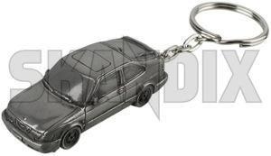 Key fob Saab 9-3 (-03) Coupe  (1060412) - universal  - key fob saab 9 3  03 coupe key fob saab 93 03 coupe Own-label 03  03  9 3 93 9 3 coupe resinaluminium resin aluminium saab