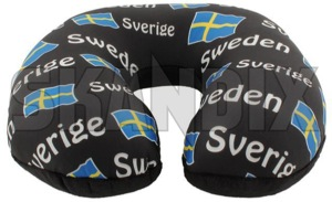 Pillow Comfort neck pillow Swedish flag  (1061209) - universal  - childrenpillow cushion nordic pillow comfort neck pillow swedish flag souvenir swedenholidays swedenvacations swedishpillow travelpillow Own-label banner comfort flag neck pillow sverige sweden swedish