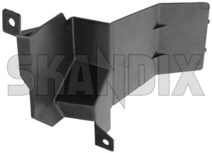 Air guide Nosepanel right 1358537 (1062333) - Volvo 700, 900 - aerofoils air baffle plates air guide nosepanel right airfoils brick deflectors vanes ventilation plates Genuine air conditioner for nosepanel right vehicles without