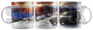 Tasse Volvo 945  (1062806) - universal  - kaffeebecher kaffeetasse sammeltasse tasse volvo 945 trinkbecher trinktasse skandix 945 bodenaufdruck einzelkarton inkl inkl  ohne porzellan sichtfenster volvo