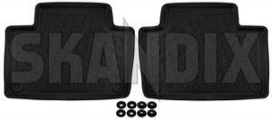 Floor accessory mats Synthetic material black  (1062845) - Volvo XC90 (2016-) - floor accessory mats synthetic material black Own-label black bowl drive for hand left leftrighthand left right hand lefthanddrive lhd mat material plastic rear rhd right righthanddrive synthetic traffic