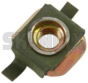 Käfigmutter M5 7974231 (1063870) - Saab universal ohne Classic - kaefigmutter m5 kastenmuttern kubelmuttern kuebelmuttern muttern quadratmuttern Original m5