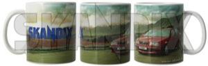 Tasse Volvo 850  (1065072) - universal  - kaffeebecher kaffeetasse sammeltasse tasse volvo 850 trinkbecher trinktasse Hausmarke 850 bodenaufdruck einzelkarton inkl inkl  ohne porzellan sichtfenster volvo