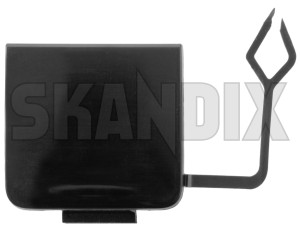 Cover, Towhook 39883139 (1066991) - Volvo V70 (2008-) - cover towhook Genuine be painted rear to