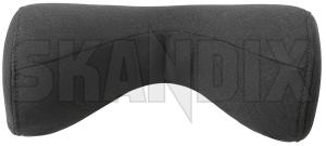 Pillow Comfort neck pillow Head rest charcoal 31470559 (1067393) - Volvo universal - childrenpillow cushion nordic pillow comfort neck pillow head rest charcoal souvenir swedenholidays swedenvacations swedishpillow travelpillow Genuine charcoal comfort fabric head neck pillow rest wool