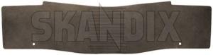 Tunnelmatte soft beige 39834682 (1067418) - Volvo XC60 (-2017) - bodenmatten fussmatten gelaendewagen kardantunnelmatten matten mitteltunnelmatten schutzmatten suv tunnelmatte soft beige xc xc60 Original beige gummi soft
