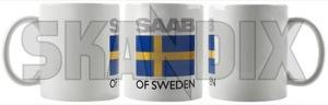 Tasse Saab of Sweden  (1068166) - Saab universal - kaffeebecher kaffeetasse sammeltasse tasse saab of sweden trinkbecher trinktasse Hausmarke of saab sweden