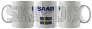 Tasse Saab 9-5 (-10)  (1068169) - Saab universal - kaffeebecher kaffeetasse sammeltasse tasse saab 9 5  10  tasse saab 95 10 trinkbecher trinktasse Hausmarke 10  10  9 5 95 9 5 grauweiss grau weiss saab