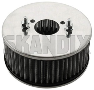 Performance Air filter tall Dual carburettor SU HS6  (1068458) - Volvo 120 130 220, 140, P1800, PV P210 - 1800e airfilters p1800e performance air filter tall dual carburettor su hs6 sports Own-label 6 carburetor carburettor double dual high hs hs6 stage su tall twin two twostage