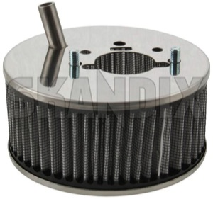 Performance Air filter Stromberg 175  (1068462) - Volvo 120 130 220, 140, 164, 200, P210 - airfilters brick performance air filter stromberg 175 sports Own-label 175 connector crankcase stromberg stud ventilation with