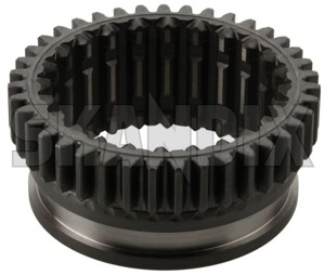 Shift collar, transmission 6843411 (1068482) - Volvo 200, 300, 700, 900 - brick coupling rings gearbox engaging sleeves shift collar transmission shifting tooth ring sliding clutches Genuine