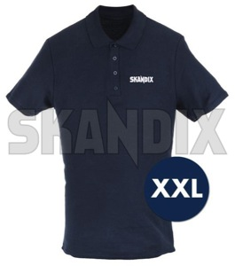Polo Shirt SKANDIX Logo XXL  (1070637) - universal  - polo shirt skandix logo xxl poloshirt  polo shirt shirt Own-label 1/2 12 1 2 application arm blue dark female logo skandix tshirt t shirt with xxl