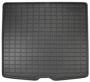 Trunk mat Synthetic material black charcoal 31470992 (1071506) - Volvo XC40 - trunk mat synthetic material black charcoal Genuine black bowl charcoal high mat material plastic synthetic