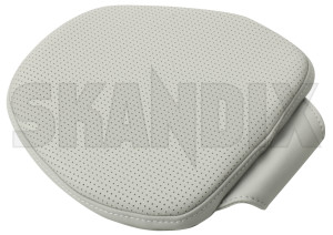 Pillow Comfort neck pillow Head rest blonde 31470566 (1071790) - Volvo S90 V90 (2017-), V60 (2019-), V90 XC, XC40, XC60 (2018-), XC90 (2016-) - childrenpillow cushion nordic pillow comfort neck pillow head rest blonde souvenir swedenholidays swedenvacations swedishpillow travelpillow Genuine blonde comfort head leather neck pillow rest