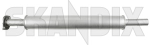 Vorschalldämpfer 30676643 (1072535) - Volvo C30, S40 V50 (2004-) - auspufftopf coupe resonator s40 s40ii schalldaempfer v50 vorderschalldaempfer vordertopf vorschalldaempfer Hausmarke