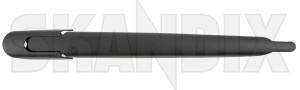Wischerarm, Scheibenreinigung für Heckscheibe 32021927 (1073047) - Saab 9-3 (2003-), 9-5 (-2010) - 93 93 9 3 95 95 9 5 9600 estate heckscheibenreinigungsarme heckscheibenwischerarme heckwischerarme kombi scheibenreinigungsarme scheibenwischer scheibenwischerarme wagon wischer wischerarm scheibenreinigung fuer heckscheibe wischerarme saab select - orio abdeckkappe fuer heckscheibe heckscheibenwischer hinten hinterer kappe ohne scheibenreinigung wischerblatt