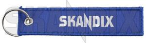 Key fob Jettag SKANDIX Logo  (1073552) - universal  - key fob jettag skandix logo skandix 130 130mm 30 30mm blue cloth fabric fleece jettag logo mm skandix textile woven