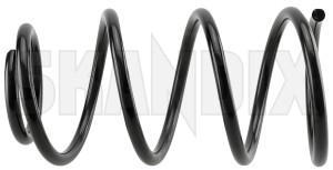 Fahrwerksfeder Vorderachse für links und rechts passend 31406568 (1073633) - Volvo V40 (2013-) - achsfeder estate fahrwerksfeder vorderachse fuer links und rechts passend fahrwerksfedern feder federn kombi schraubenfeder v40 v40ii wagon Hausmarke 7707 beide beidseitig fuer linke linker links linksseitig passend rechte rechter rechts rechtsseitig seite seiten und vorderachse vorderer vorne