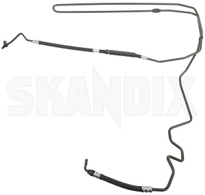 Pressure hose, Steering system 32021915 (1074278) - Saab 9-3 (2003-) - pressure hose steering system Own-label      awd drive for hand left lefthand left hand lefthanddrive lhd power pump rack seals steering vehicles with without